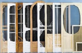 Wood & Aluminum, Retractable Screen Doors, Storm Doors, Security Doors